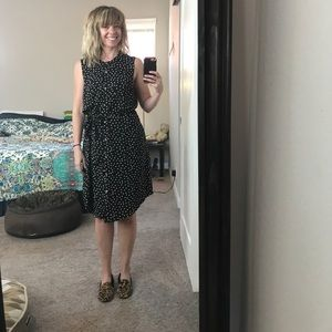Juicy Couture heart print button front dress