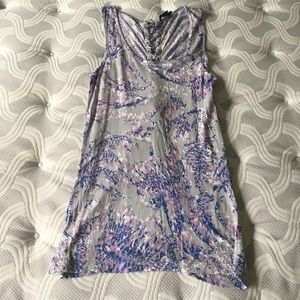 Tops - 18 and east long tank top lace up S
