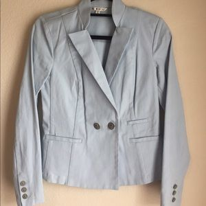 Pale blue CAbi blazer