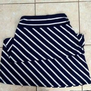 Dresses & Skirts - Diagonal Striped Maxi Skirt