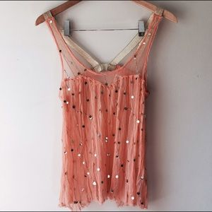 Intimately Free People melon babydoll top