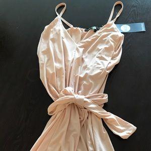 be57813feeb42 Boohoo Dresses   Davisa Slinky Knot Detail Bodycon Dress   Poshmark