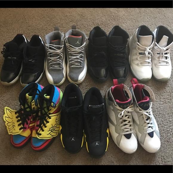 6763edfcff5 Air Jordan Shoes   Nike Jordan Adidas Shoe Lot   Poshmark