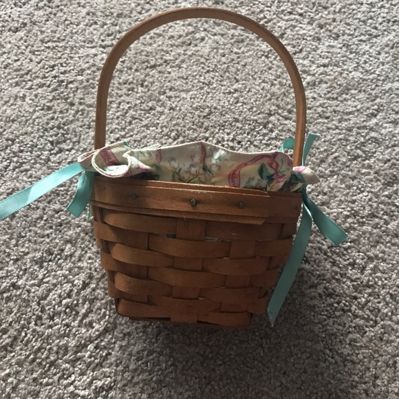 Longaberger Extra Small Foyer Basket : Off longaberger other small basket with