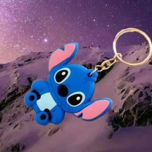 Jewelry - Creative Cartoon Silicone Key Ring   .