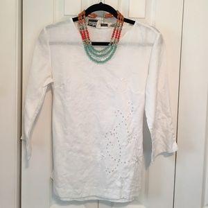 💕💕Edward Irish Linen Tunic