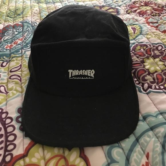 f55d7c59bac Thrasher 5 panel hat. M 5957ec66c6c795b0b60386b4