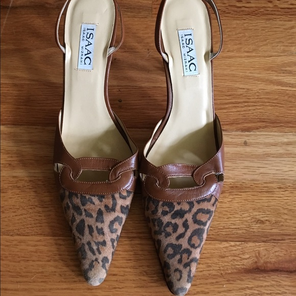 Pointed Toe Kitten Heels