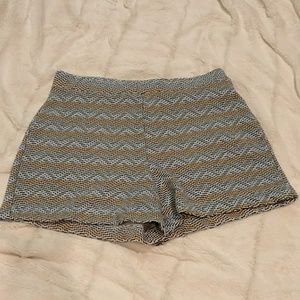 Zara Patterned Shorts
