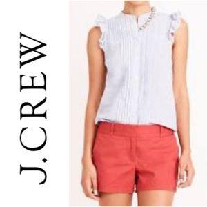 """J.Crew 4"""" Chino Shorts • Red • Orange"""