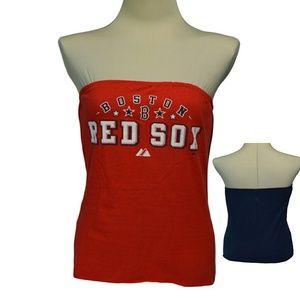 Boston Red Sox Baseball Tube top tee