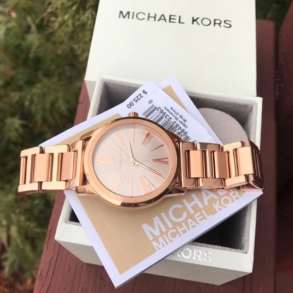 821be523b3a4 Michael Kors Rose Gold Hartman MK watch MK3491