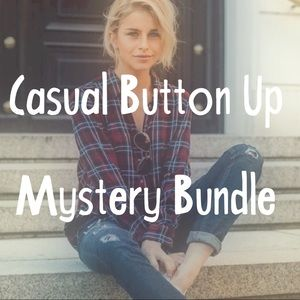 Tops - Casual Button Up Top mystery bundle