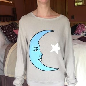 Wildfox half moon light sweater