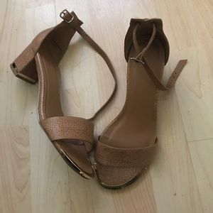 Sandals heels size 7
