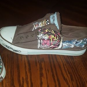 Other - Mens size 10 Ed Hardy shoes