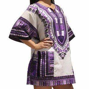 Tops - Dashiki shirt for men and women
