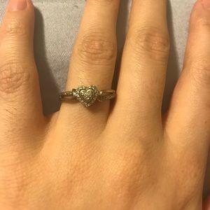 3fac67b99279eb jared diamonds Jewelry | 14k White Gold Promise Ring | Poshmark