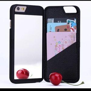 Accessories - Mirror Card Wallet Design Women Cover
