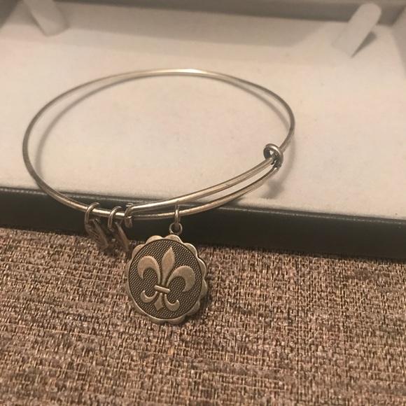Fleur De Lis Charm Bracelet: 51% Off Alex & Ani Jewelry