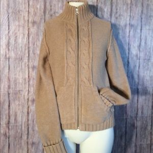 Old Navy women's Zip up high collared sweater