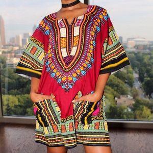 Tops - African dashiki shirt