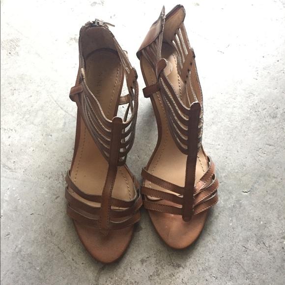 615ecec53916 Nine West Richesse gladiator Sandals size 7 1 2