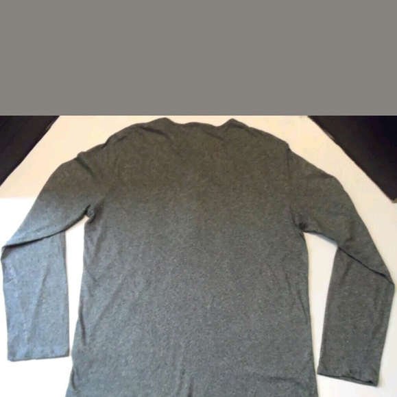 43 off h m other men 39 s h m henley heathered grey tee for H m mens henley t shirt long sleeve