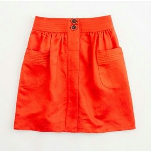 J.Crew SOLDOUT  Dorrie Skirt in Burnt Orange