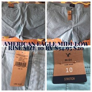 AMERICAN EAGLE Midi Ladies Shorts