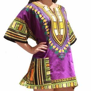 Tops - African dashiki shirt for men and women
