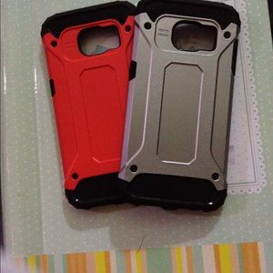 Accessories - Galaxy S7 TPU + PC Cases Full Protection