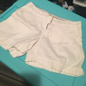 White shorts from h&m