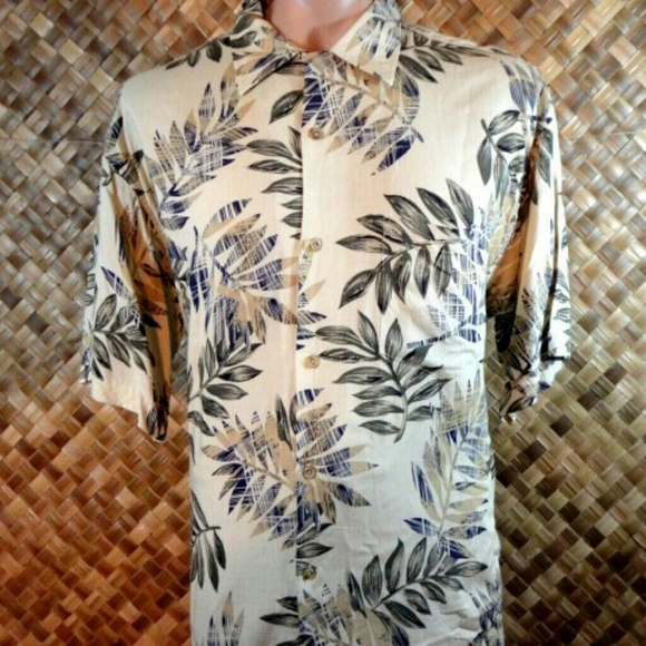 51c195eaefde8 Hilo Hattie Shirts   Mens Rayon Hawaiian Print Shirt Large   Poshmark