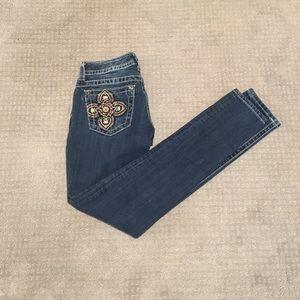 PRICE DROP Miss Me skinny jeans size 26