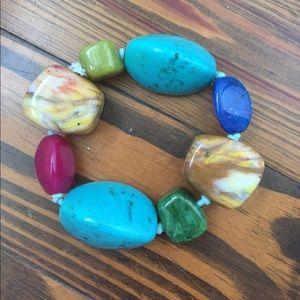Jewelry - Colorful Bangle Statement Bracelet