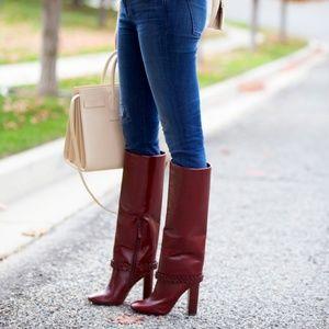 25d4b43b159 Tory Burch Shoes - NEWTory Burch Sarava Leather Knee Boot