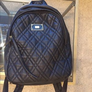 Steve Madden Faux Leather Backpack