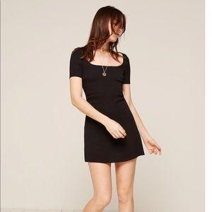 REFORMATION - simple black dress - size 8