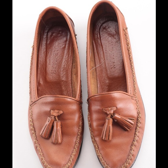4b9f320a008 Cole Haan Shoes - COLE HAAN brown leather loafers HANDMADE IN ITALY