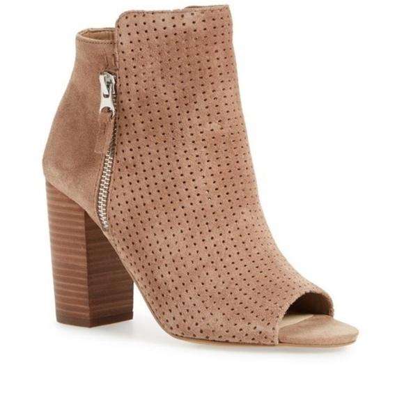 e180ffa01099 Jessica Simpson Shoes - Jessica Simpson Keris Open Toe Bootie