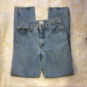 authentic vintage high waisted moschino mom jeans