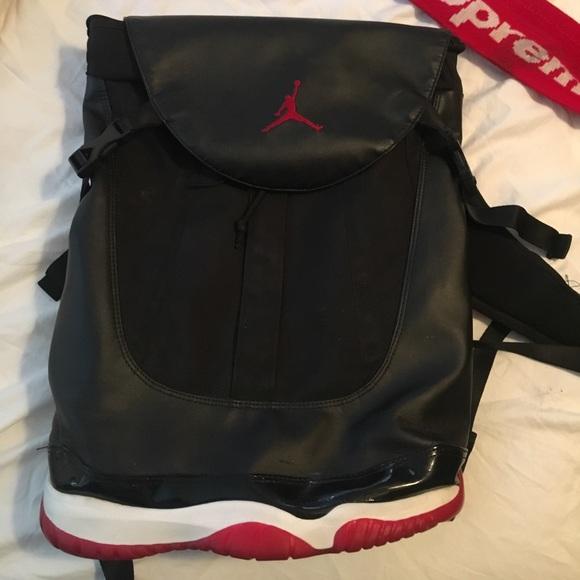 07f6f7af6d299d Jordan Other - Nike Jordan 11 Premium Backpack Shoe bag Bred