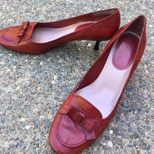 Enzo Angiolini red heels