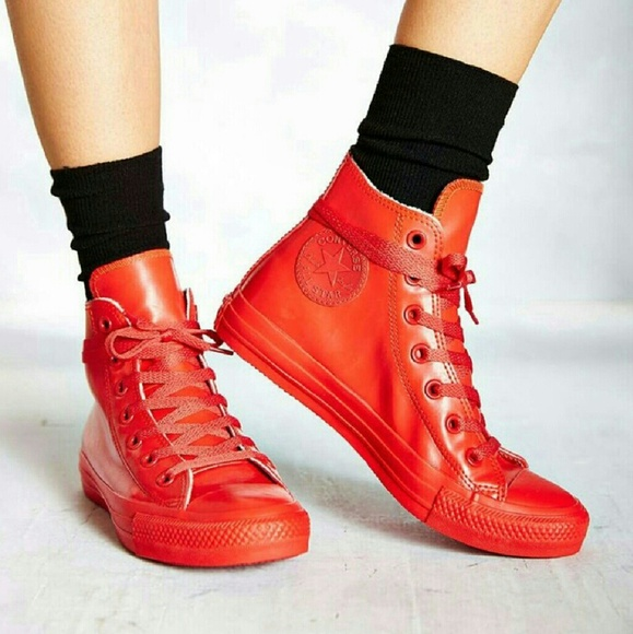 NWT Converse Chuck All Star Red Rubber Shoe Boot NWT