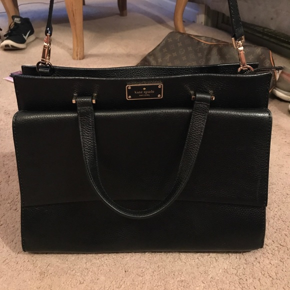 kate spade Handbags - Kate Spade large purse black 13 W by 11 L.