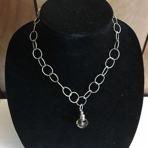 Jewelry - SALE Silver statement necklace