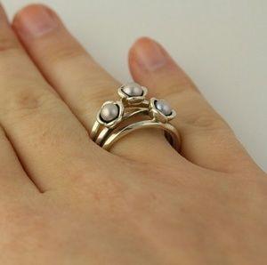 ccd36d803 cheap pandora grey pearl rings eb9c2 5f38d