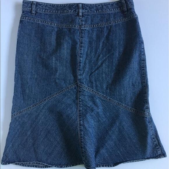 71 dkny dresses skirts dkny denim jean fit and
