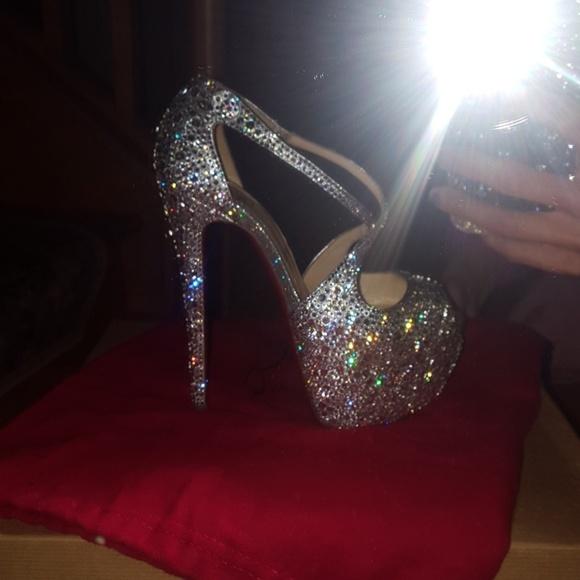 f2631b7d61bde2 Christian Louboutin Shoes - Christian Louboutin exagona swarovski strass  heels